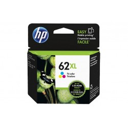 HP 62XL TRI-COLOR INK CARTRIDGE (C2P07AEABE)