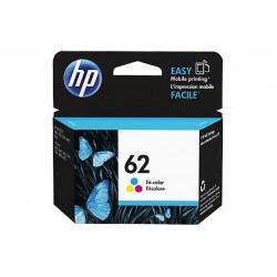 HP 62 TRI-COLOR INK CARTRIDGE (C2P06AEABE)