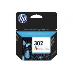 HP 302 TRI-COLOR INK CARTRIDGE (F6U65AE)