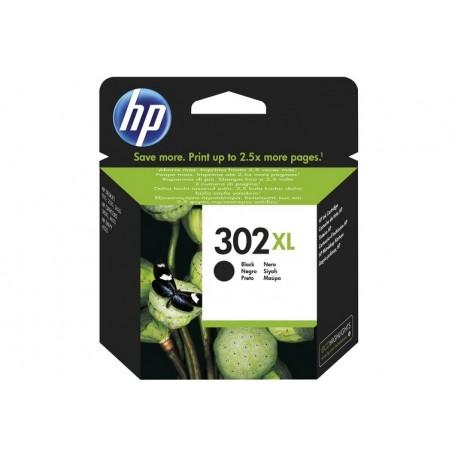 HP 302XL BLACK INK CARTRIDGE (F6U68AE)