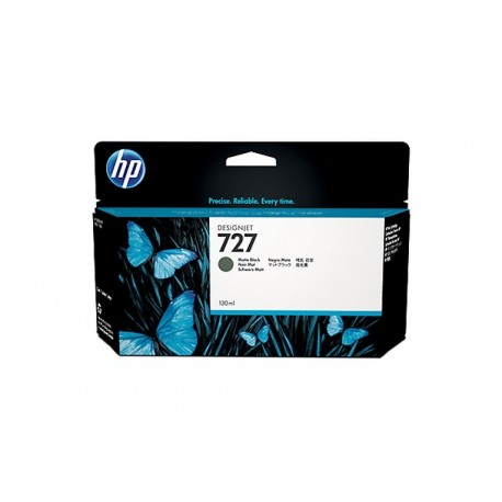 HP 727 130-ML MATE BLACK INK CARTR (B3P22A)