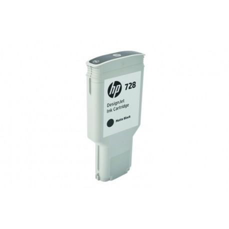 HP 728 300-ML MATTE BLACK DESIGNJET (F9J68A)