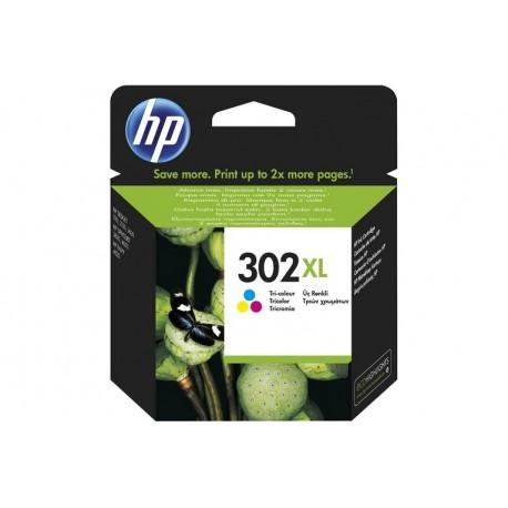 INK BLISTER HP 302XL TRI-COLOR (F6U67AE301)