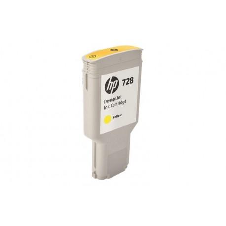 HP728 300-ML YELLOW INKCART (F9K15A)