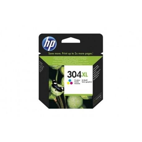 HP 304XL TRI-COLOR INK CARTRIDGE (N9K07AE301)