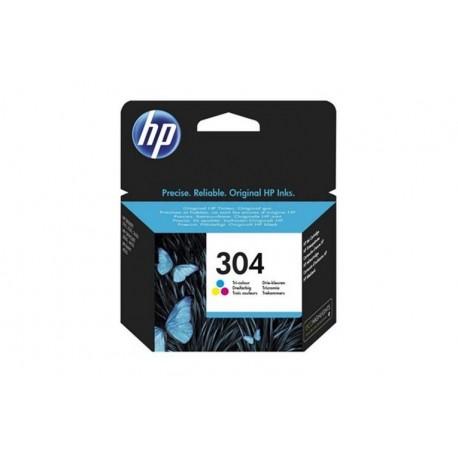 HP 304 TRI-COLOR INK CARTRIDGE (N9K05AE301)