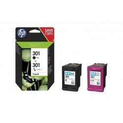 HP 301 COMBO NERO/TRICROMIA HP 301 (N9J72AE)