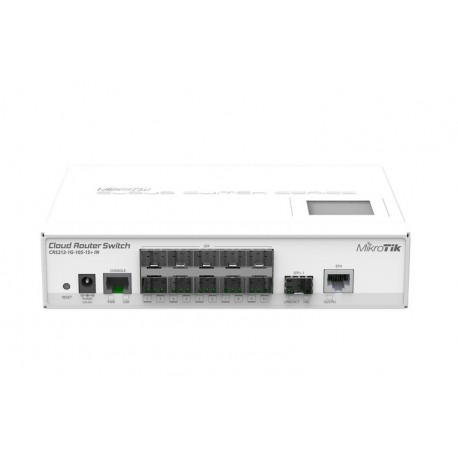 MIKROTIK CLOUD ROUTER SWITCH 212-1G-10S- (CRS212-1G-10S-1S+IN)