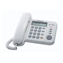 TELEFONO FISSO KX-TS580EX1W (KX-TS580EX1W)