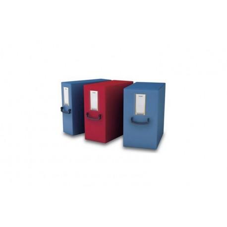 Scatola Progetto Plus Dorso 8 cm Fellowes U208RO Rosso
