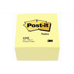 POST IT-636B-CUBO GIALLO76X76 (93753)