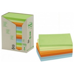 CF16POST-IT RICICL 655 PASTELLO (91479)