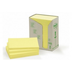 CF16POST-IT RICICL 655-1T GIALLO (91396)