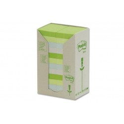 CF24POST-IT RICICL 653-1RPT PASTEL (91412)