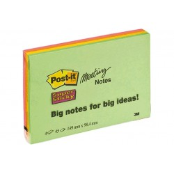 CF4POST-IT SUPERST MEETNOTE MEDIUM
