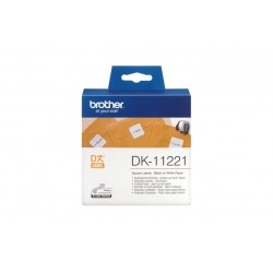 DK11221 1000 ETICH.BROTH.23MMX23MM
