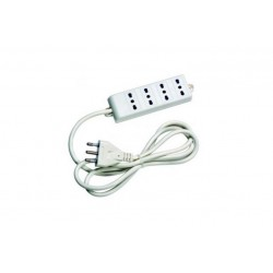 MULTIPRESA 4P. WHITE BIPASSO (MG60046)