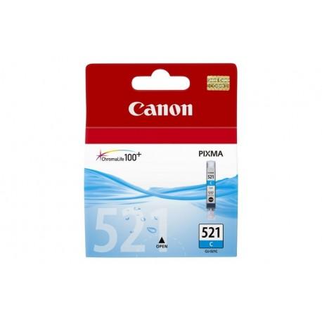 CARTUCCIA CANON CLI-521C CIANO 2934B001 (2934B001AA)