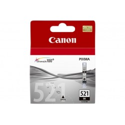 CARTUCCIA CANON CLI-521BK NERO FOTO 2933 (2933B001AA)