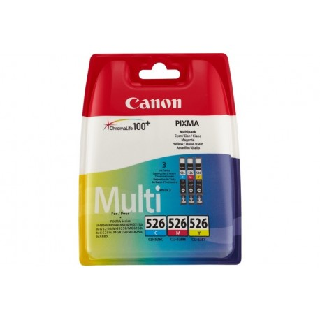 Canon CLI-526 C/M/Y Multi pack - Serbato (4541B012)