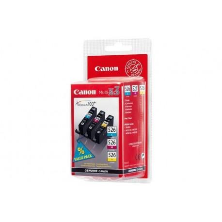 MULTIPACK CANON CLI-526 C/M/Y COLORE 454 (4541B009)