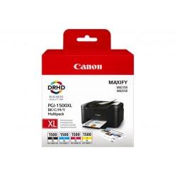 CARTUCCIA CANON PGI-1500XL BK/C/M/Y MULT (9182B004)