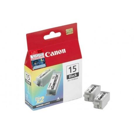 CARTUCCIA CANON BCI-15 NERO 8190A002 X 2 (8190A002)