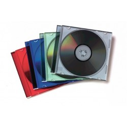 JEWEL CASE SLIM COLORI ASSORTITI CONF.25