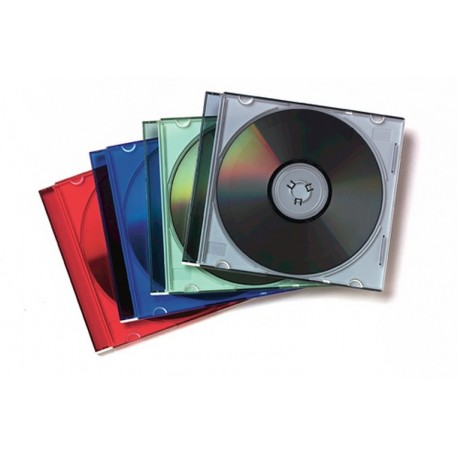 JEWEL CASE SLIM COLORI ASSORTITI CONF.25 (98317)
