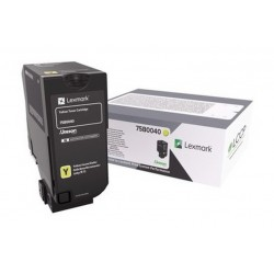 CS/CX 727 CS728 TONER GIALLO