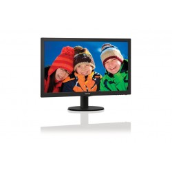 "PHILIPS LED MONITOR 21,5"" DVI-VGA /VESA (223V5LSB/00)"