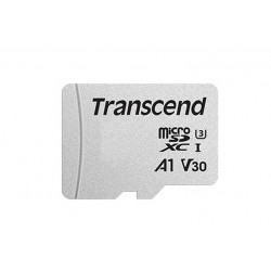 64GB UHS-I U1 MICROSD WITH ADAPTER (TS64GUSD300S-A)