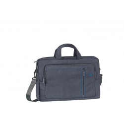 GREY LAPTOP CANVAS BAG 15.6 (7530GY)