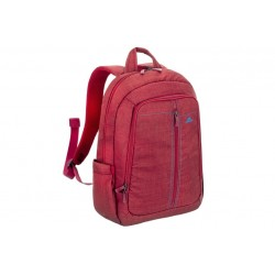 LAPTOP CANVAS BACKPACK 15.6 RED / (7560RED)