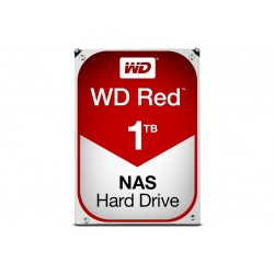 WD RED HDD 3.5 1TB 5400 64MB FOR NAS (WD10EFRX)