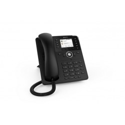 TELEFONO SNOM D735 W/O PS BLACK (00004389)