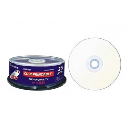 BOX 25PZ CD-R80M PRINT INKJET 47312 (47312)