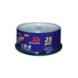 BOX25PZ CD-R 52X 80MIN 700MB 47237 (17035)