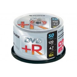 BOX DVD R 4 7GB 16X CAMPANA 50PZ (47593)