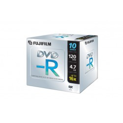 DVD-R 4 7GB 16X JEWEL CONF 10 PZ (47586)