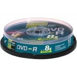 BOX DVD-R 4 7GB 16X CAMPANA 10 PZ (47588)