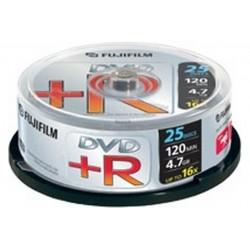 BOX DVD R 4 7GB 16X CAMPANA 25PZ (47493)