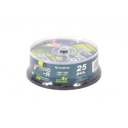 BOX DVD-R 4 7GB 16X CAMPANA 25 PZ (47495)
