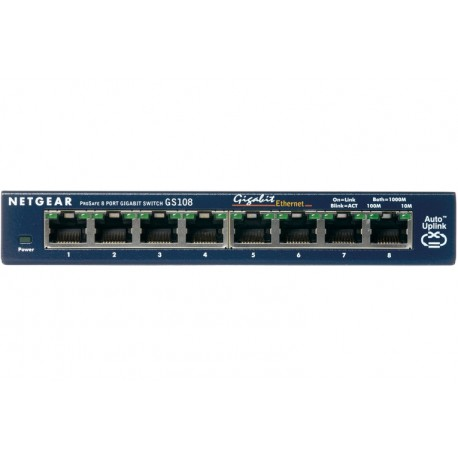 SWITCH 8 1000BASE-T (GS108GE)