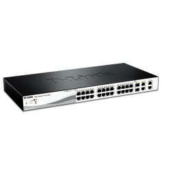 SWITCH POE 24X10/100 2X1000 2 COMBO (DES-1210-28P)