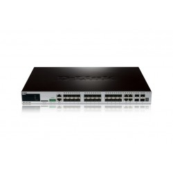 STACKABLE 24PORT SFP L2 GIGE SW (DGS-3420-28SC)