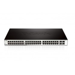 D-LINK SWITCH 48 PORTE 10/100/1000+4 (DGS-1210-52)