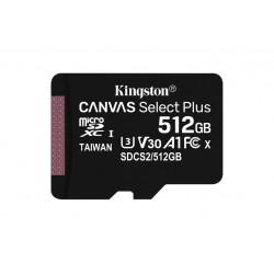 512GB MICSD CANVASSELECTPLUS+ADP (SDCS2/512GB)