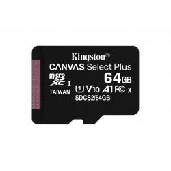 64GB MICSD CANVASELECTPLUS 3+1ADP (SDCS2/64GB-3P1A)