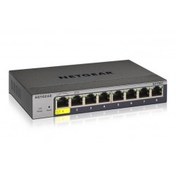 SWITCH GIGABIT SMART MANAGED PRO 8P (GS108T-300PES)